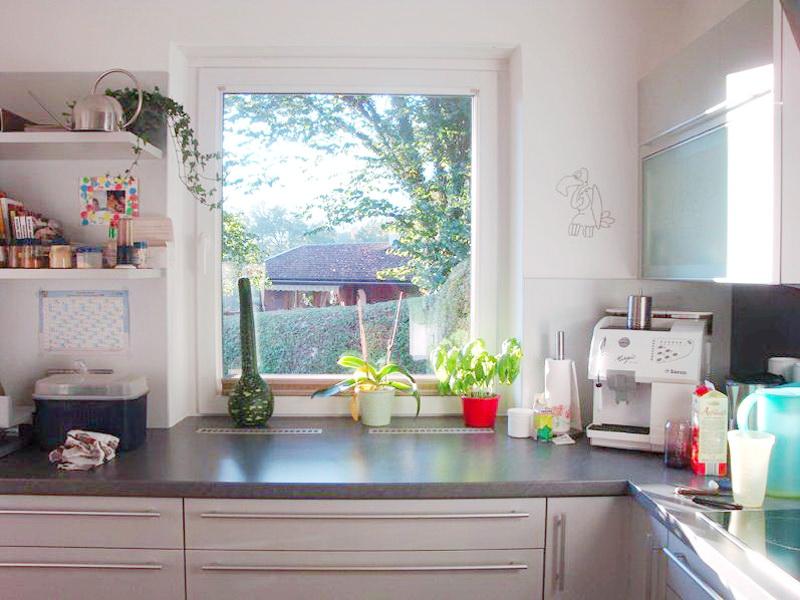 perfecta Fenster in der Küche