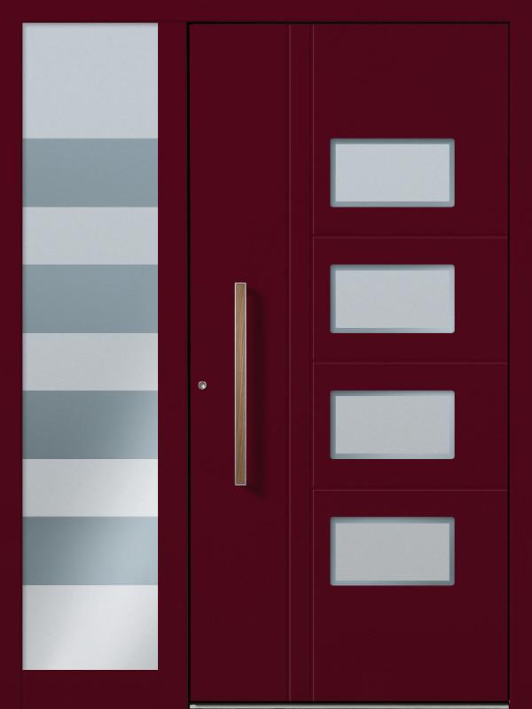 Haustüren modern mit seitenteil weiß  Haustüren Modelle – Perfecta Werksvertretung Böger
