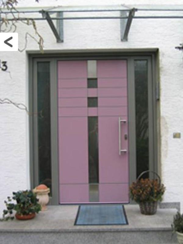 Farbige perfecta Tür
