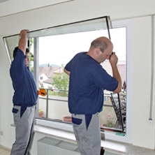 Bekannt Fensterwechsel ohne Dreck – Perfecta Werksvertretung Böger PC28
