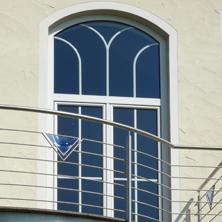Neues perfecta fenster mit rundbogen und sprossen perfecta werksvertretung b ger - Fenster mit rundbogen ...