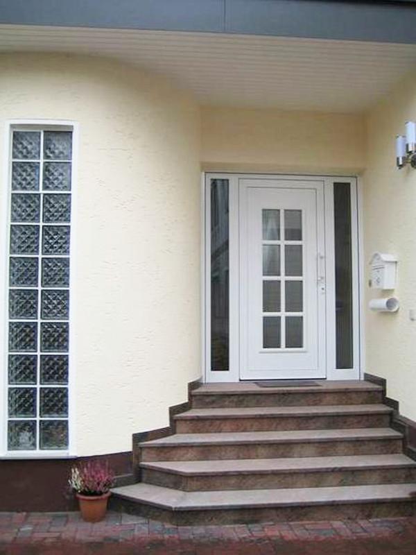 Treppe zur perfecta Tür