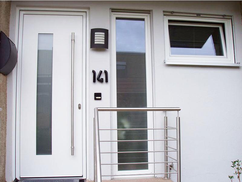 perfecta Tür mit Seitenfenster