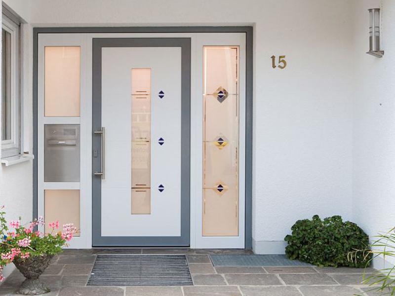 perfecta Tür mit Seitenteilen