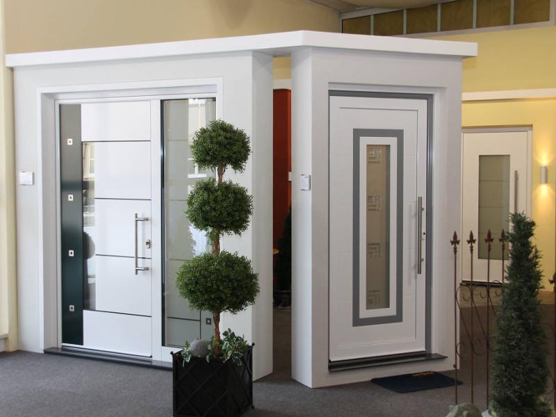 perfecta Türen im Ausstellungsraum